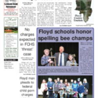 Floyd County Chronicle & Times February 2, 2018