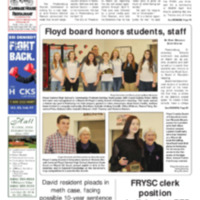 Floyd County Chronicle & Times March 30, 2018