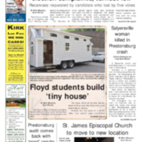 Floyd County Chronicle & Times May 25, 2018