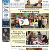 Floyd County Chronicle & Times December 24, 2018