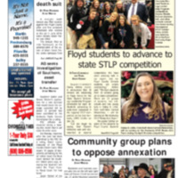 Floyd County Chronicle & Times January 30, 2019
